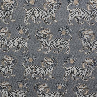 S3150 Onyx Fabric: M03, ANIMAL, NOVELTY, WOVEN, BLACK, DRAGON, ONYX