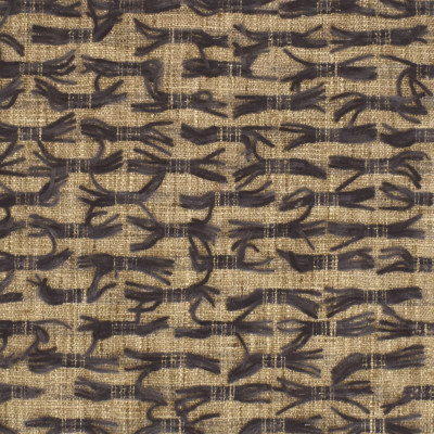 S3151 Sparrow Fabric: M03, CONTEMPORARY, FRINGE, TEXTURE, WOVEN, BLACK, NEUTRAL