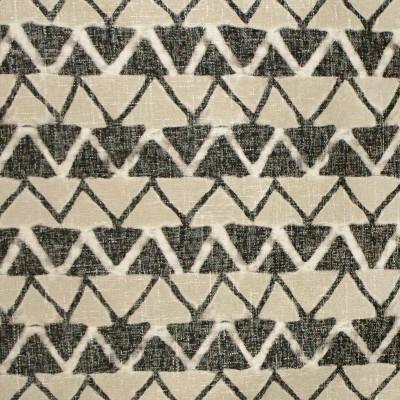 S3152 Nightfall Fabric: M03, GEOMETRIC, CONTEMPORARY, SHIBORI, PRINT, BLACK, NEUTRAL