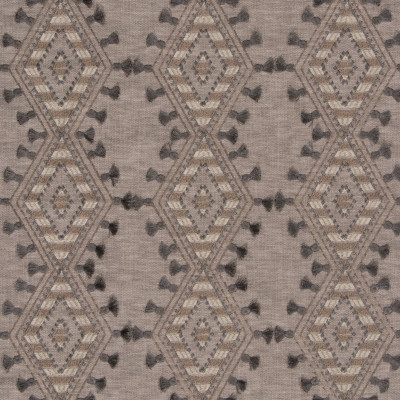 S3159 Storm Fabric: M03, DIAMOND, GEOMETRIC, CONTEMPORARY, EMBROIDERY, WINDOW, GRAY, GREY, NEUTRAL