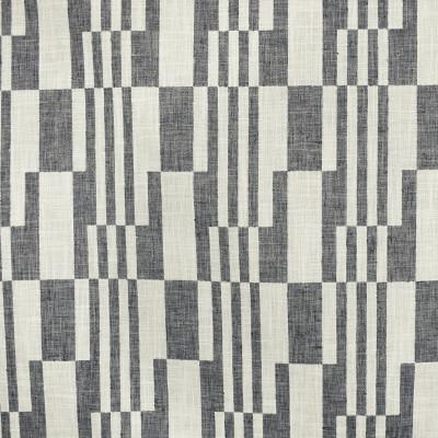 S3160 Stone Fabric: M03, CONTEMPORARY, GEOMETRIC, WOVEN, GRAY, GREY, STONE, CHECKERED