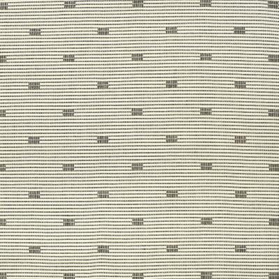 S3164 Newsprint Fabric: M03, STRIPE, CONTEMPORARY, WOVEN, TEXTURE, BLACK