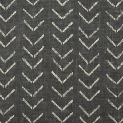 S3169 Ebony Fabric: M03, ABSTRACT, GEOMETRIC, PRINT, BLACK, EBONY