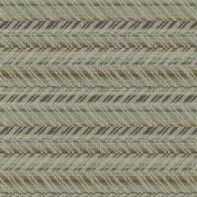 S3171 Burnished Fabric: M03, CHEVRON, WOVEN, GRAY, GREY, GOLD