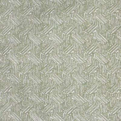 S3186 Green Tea Fabric: M03, GEOMETRIC, CONTEMPORARY, EMBROIDERY, WINDOW, TEXTURE, GREEN