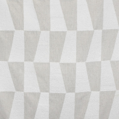 S3191 Cloud Fabric: M03, GEOMETRIC, CONTEMPORARY, EMBROIDERY, WINDOW, TEXTURE, NEUTRAL