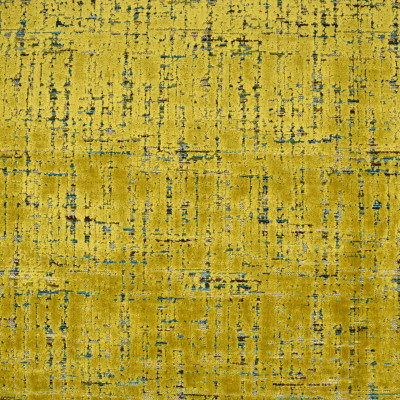 S3193 Sulfur Fabric: M03, CONTEMPORARY, VELVET, TEXTURE, CUT VELVET, YELLOW, SULFUR, MULTI
