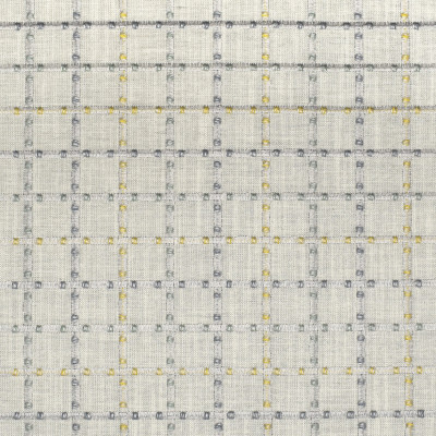 S3230 Fog Fabric: M03, PLAID, WINDOWPANE PLAID, EMBROIDERY, BLUE, WINDOW, TEXTURE