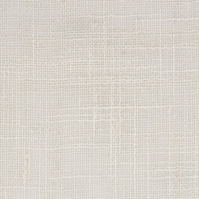 S3342 Talc Fabric: S45, ANNA ELISABETH, WINDOW, DRAPERY, SOLID, FAUX LINEN, WHITE, TALC