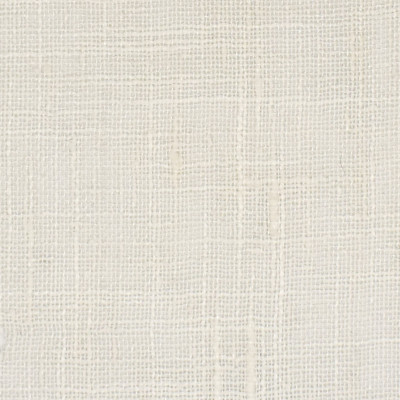 S3343 Coconut Fabric: S45, ANNA ELISABETH, WINDOW, DRAPERY, SOLID, FAUX LINEN, WHITE, COCONUT