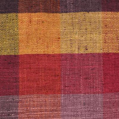 S3422 Sherbert Fabric: M04, ANNA ELISABETH, CHECK, BUFFALO CHECK, WOVEN, PURPLE, ORANGE, PINK, MULTI, SHERBERT