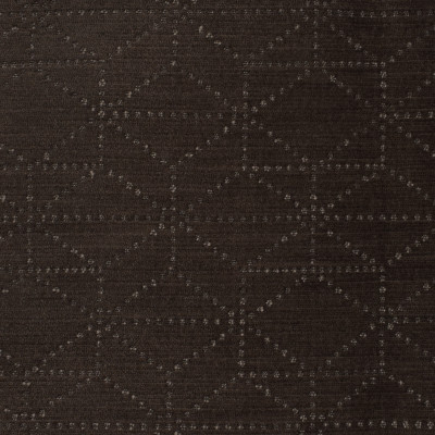 S3482 Espresso Fabric: S46, ANNA ELISABETH, CRYPTON, CRYPTON HOME, PERFORMANCE, EASY TO CLEAN, GEOMETRIC, BROWN, CHENILLE, ESPRESSO