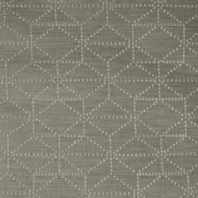 S3498 Silver Fabric: S46, ANNA ELISABETH, CRYPTON, CRYPTON HOME, PERFORMANCE, EASY TO CLEAN, GEOMETRIC, CHENILLE, GRAY, GREY, SILVER