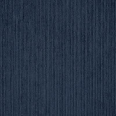 S3522 Navy Fabric: S47, ANNA ELISABETH, CRYPTON, CRYPTON HOME, PERFORMANCE, EASY TO CLEAN, STRIPE, BLUE, TEXTURE, CORDUROY, CORD