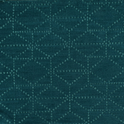 S3526 Aegean Fabric: S47, ANNA ELISABETH, CRYPTON, CRYPTON HOME, PERFORMANCE, EASY TO CLEAN, GEOMETRIC, CHENILLE, TEAL, AEGEAN