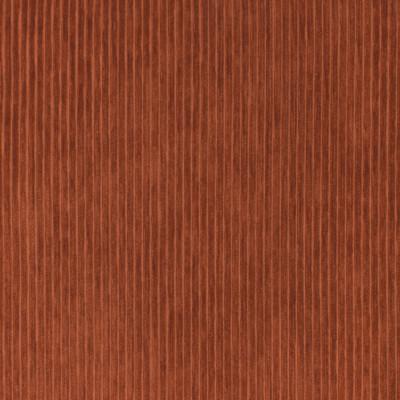 S3558 Paprika Fabric: S47, ANNA ELISABETH, CRYPTON, CRYPTON HOME, PERFORMANCE, EASY TO CLEAN, STRIPE, TEXTURE, CORDUROY, CORD, ORANGE, PAPRIKA