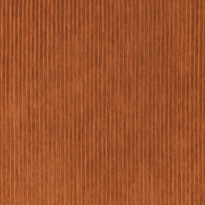 S3560 Terracotta Fabric: S47, ANNA ELISABETH, CRYPTON, CRYPTON HOME, PERFORMANCE, EASY TO CLEAN, STRIPE, TEXTURE, CORDUROY, CORD, ORANGE, TERRACOTTA