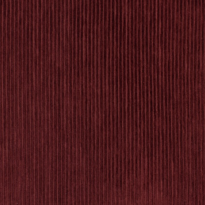 S3567 Merlot Fabric: S47, ANNA ELISABETH, CRYPTON, CRYPTON HOME, PERFORMANCE, EASY TO CLEAN, STRIPE, TEXTURE, CORDUROY, CORD, RED, MERLOT