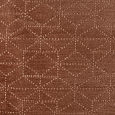 S3569 Rosewood Fabric: S47, ANNA ELISABETH, CRYPTON, CRYPTON HOME, PERFORMANCE, EASY TO CLEAN, GEOMETRIC, CHENILLE, PINK, MAUVE, ROSEWOOD