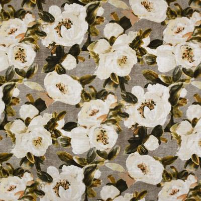 S3598 Dusk Fabric: M05, FLORAL, PRINT, NEUTRAL, GREEN