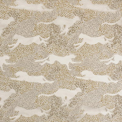 S3600 Saffron Fabric: M05, ANIMAL, DOT, SATIN, CHENILLE, NEUTRAL, SAFFRON