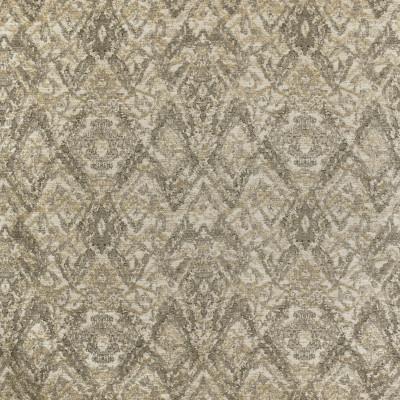 S3612 Ash Fabric: M05, GEOMETRIC, MEDALLION, CHENILLE, GRAY, GREY, NEUTRAL, ASH
