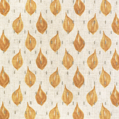 S3622 Saffron Fabric: M05, GEOMETRIC, CONTEMPORARY, PRINT, EMBROIDERY, PRINTED EMBROIDERY, GOLD, YELLOW, SAFFRON