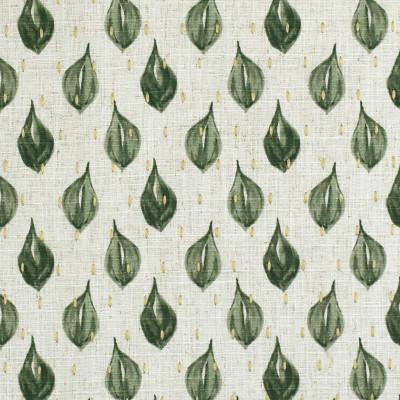 S3634 Silversage Fabric: M05, GEOMETRIC, CONTEMPORARY, PRINT, EMBROIDERY, PRINTED EMBROIDERY, GREEN, SILVERSAGE