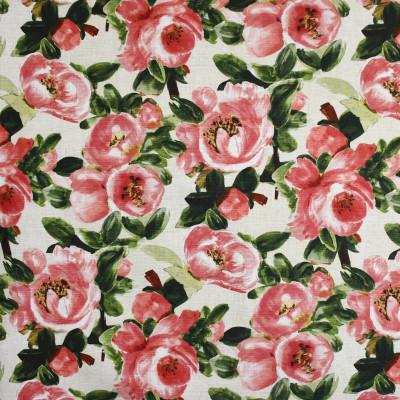 S3645 Rose Fabric: M05, FLORAL, PRINT, PINK, ROSE