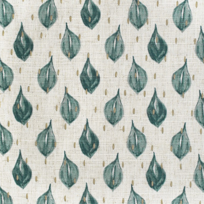 S3658 Mineral Fabric: M05, GEOMETRIC, CONTEMPORARY, PRINT, EMBROIDERY, PRINTED EMBROIDERY, TEAL, MINERAL, BLUE