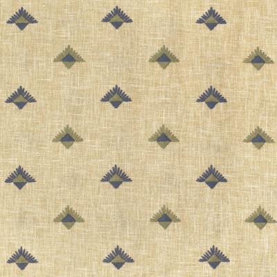 S3661 Slate Fabric: M05, DITSY, GEOMETRIC, EMBROIDERY, BLUE, GREEN, SLATE