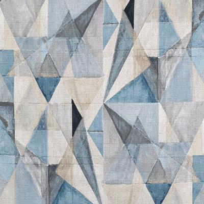 S3663 Latitude Fabric: M05, GEOMETRIC, PRINT, BLUE