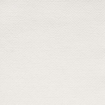S3672 Snowdrift Fabric: S48, MADE IN USA, CRYPTON, CRYPTON HOME, PERFORMANCE, EASY TO CLEAN, DIAMOND, GEOMETRIC, TEXTURE, WHITE, SNOWDRIFT