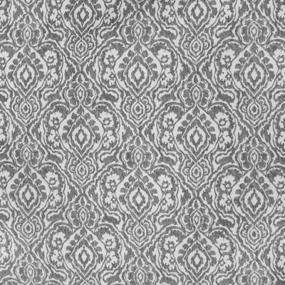 S3715 Smoke Fabric: S49, MADE IN USA, CRYPTON, CRYPTON HOME, PERFORMANCE, MEDALLION, GRAY, GREY, SMOKE