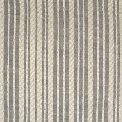 S3721 Sediment Fabric: S49, MADE IN USA, CRYPTON, CRYPTON HOME, PERFORMANCE, STRIPE, CHENILLE, GRAY, GREY, SEDIMENT