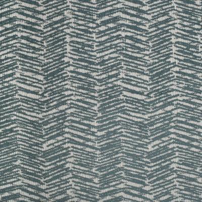 S3772 Rain Fabric: S50, MADE IN USA, CRYPTON, CRYPTON HOME, PERFORMANCE, GEOMETRIC, CHENILLE, BLUE, RAIN