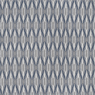 S3777 Waves Fabric: S50, MADE IN USA, CRYPTON, CRYPTON HOME, PERFORMANCE, DIAMOND, GEOMETRIC, BLUE, WAVES