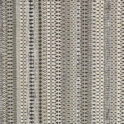 S3810 Pearl Fabric: S51, GEOMETRIC, STRIPE, GRAY, GREY, NEUTRAL, PEARL