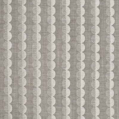 S3815 Alabaster Fabric: S51, DOT, STRIPE, EMBROIDERY, GRAY, GREY, NEUTRAL, ALABASTER