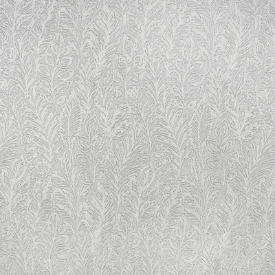 S3819 Frost Fabric: S51, FLORAL, WOVEN, GRAY, GREY, FROST