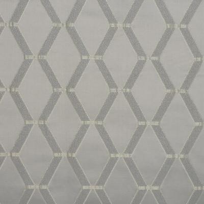 S3820 Silver Fabric: S51, GEOMETRIC, METALLIC, SATIN, GRAY, GREY, SILVER