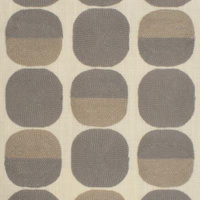 S3828 Dove Fabric: S51, DOT, CONTEMPORARY, EMBROIDERY, GRAY, GREY, NEUTRAL, DOVE