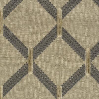 S3833 Fog Fabric: S51, EYELASH, FIL COUPE, DIAMOND, GEOMETRIC, EMBROIDERY, NEUTRAL, NATURAL