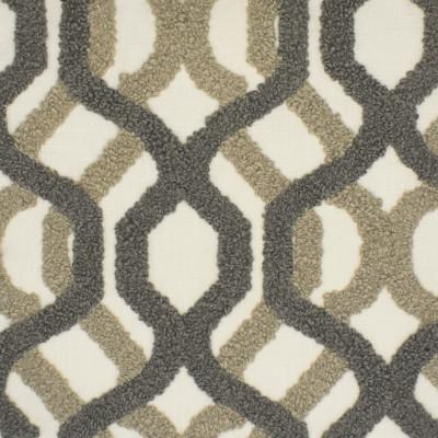 S3842 Cobblestone Fabric: S51, GEOMETRIC, WOVEN, TEXTURE, GRAY, GREY, NEUTRAL