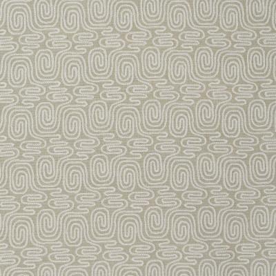 S3870 Smoke Fabric: S52, GEOMETRIC, CONTEMPORARY, EMBROIDERY, WINDOW, NEUTRAL, SMOKE