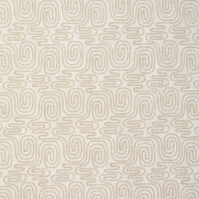 S3881 Neutral Fabric: S52, GEOMETRIC, CONTEMPORARY, EMBROIDERY, WINDOW, NEUTRAL