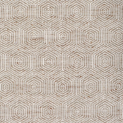 S3902 Natural Fabric: S52, MEDALLION, WOVEN, NEUTRAL, NATURAL