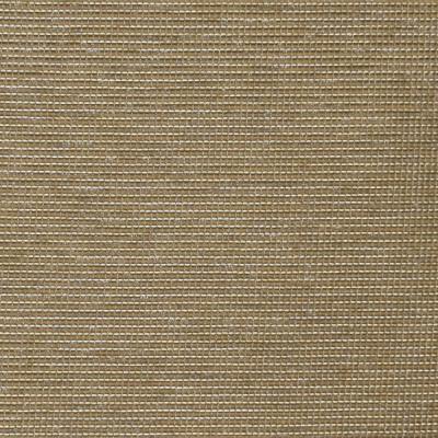 S3918 Flax Fabric: S52, SOLID, METALLIC, WOVEN, BROWN, FLAX