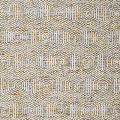 S3920 Antique Fabric: S52, MEDALLION, WOVEN, NEUTRAL, BROWN, ANTIQUE