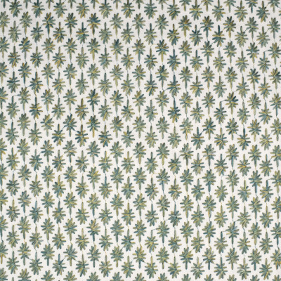 S3942 Seaglass Fabric: S53, SMALL SCALE, DITSY, STAR, GEOMETRIC, EMBROIDERY, TEAL, SEAGLASS, WINDOW